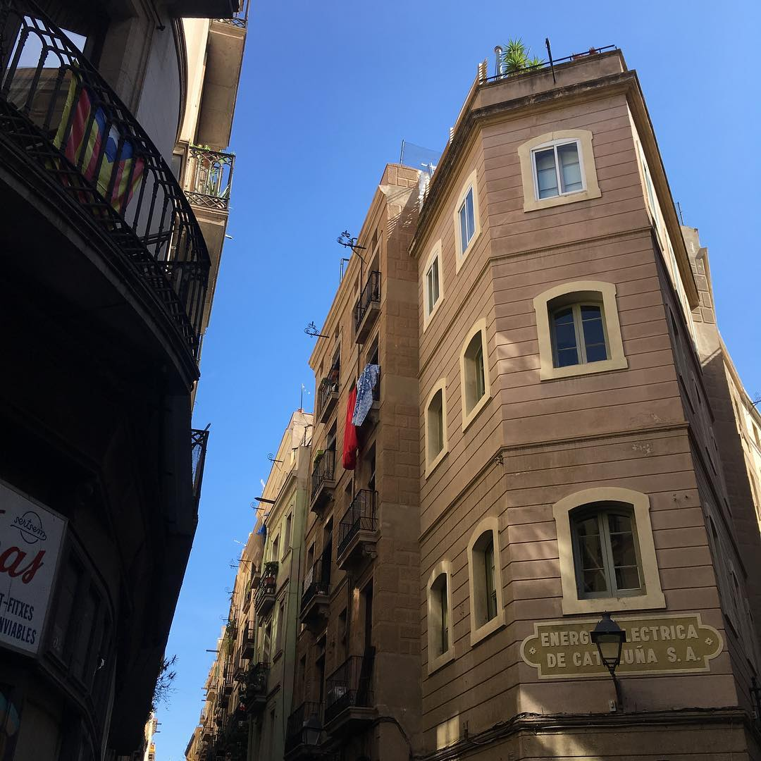 Photo of Barcelona streets